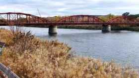 Puente Reina Sofía de Talavera, donde se han producido el atropello de la niña de 12 años