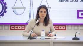 La ministra de Igualdad, Irene Montero, en la presentación de un ciclo sobre igualdad de género.