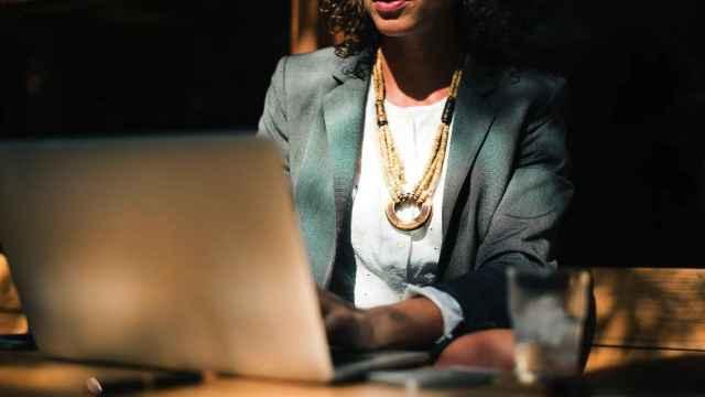Una mujer ejecutiva en una imagen de archivo.