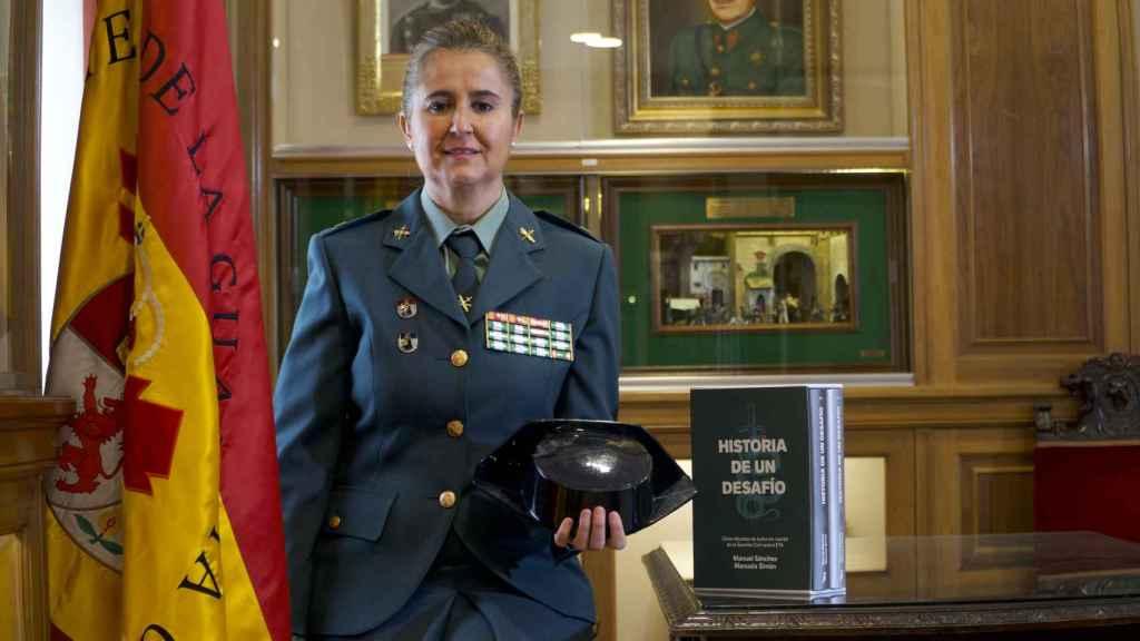 Manuela Simón, la primera mujer condecorada por la Guardia Civil por su lucha contra ETA.