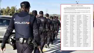 El examen de ortografía que han suspendido el 75% de los opositores a Policía