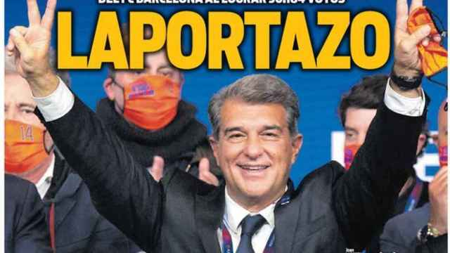 La portada del diario SPORT (08/03/2021)
