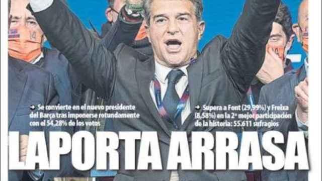La portada del Mundo Deportivo (08/03/2021)