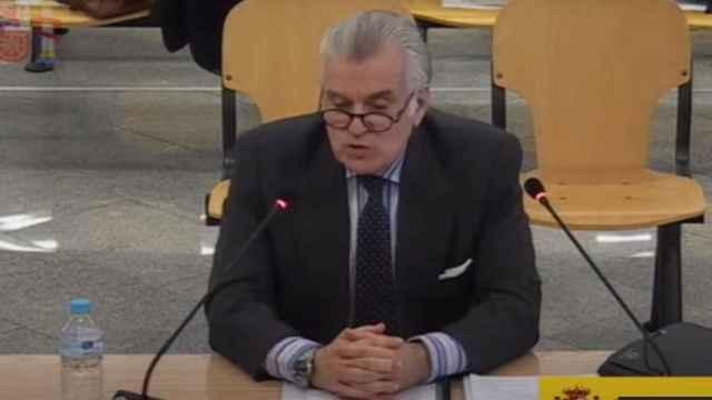 Luis Bárcenas declara en la Audiencia Nacional.