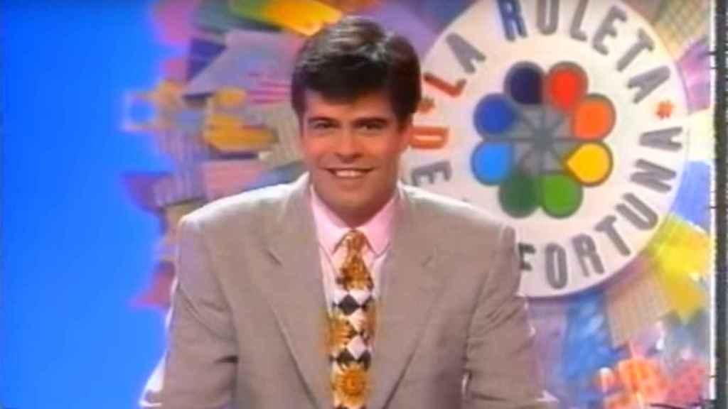 Ferreño en una imagen en 'La ruleta de la fortuna'.