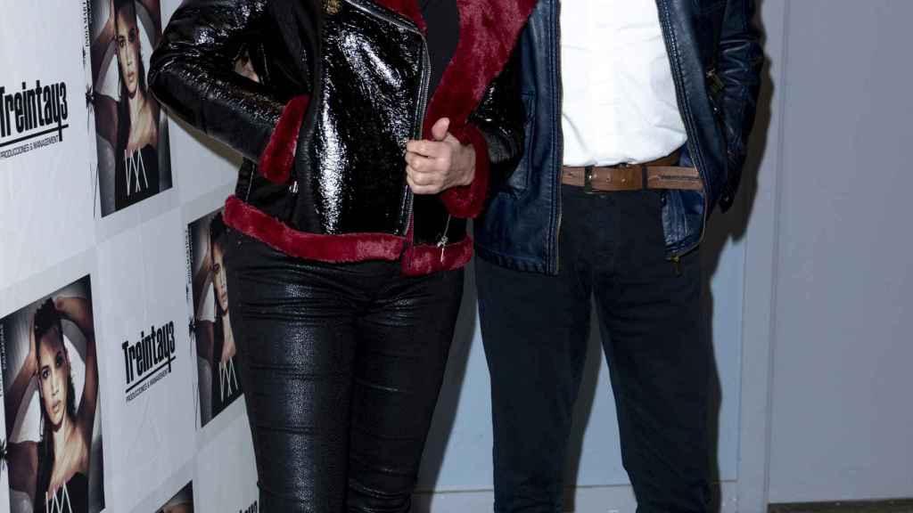 Ferreño junto a Paula Sereno en una imagen de febrero de 2020.