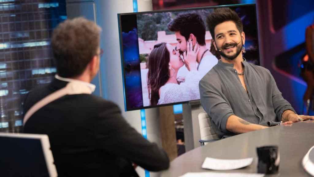 El cantante recordó en 'El Hormiguero' su historia de amor con Evaluna Montaner.