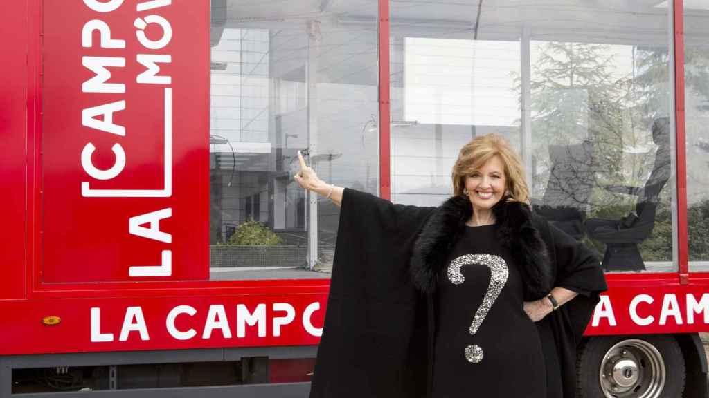 Telecinco ha optado por emitir 'La Campos móvil' en la franja de tarde.