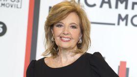María Teresa Campos en la presentación de 'La Campos móvil'.