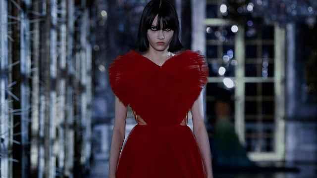 Uno de los impresionantes diseños que Dior ha presentado.