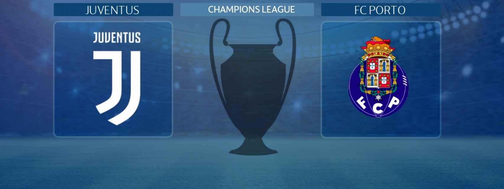 Juventus - Oporto, partido de la Champions League