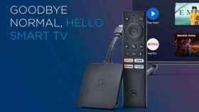 Nuevo Motorola 4K Android TV Stick: Android TV, Chromecast…
