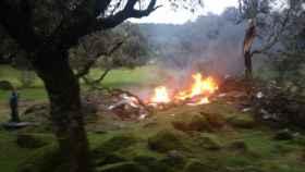 Accidente de avioneta en la provincia de Toledo. Imagen de archivo