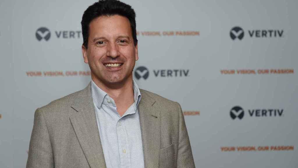 José Alfonso Gil, director general de Vertiv para España y Portugal.