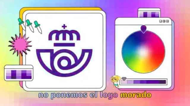 Fotograma del vídeo de Correos subido a las redes sociales por el 8-M.