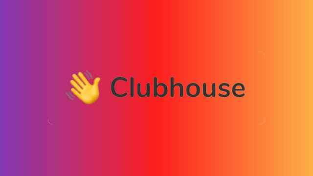 Logo de Clubhouse.