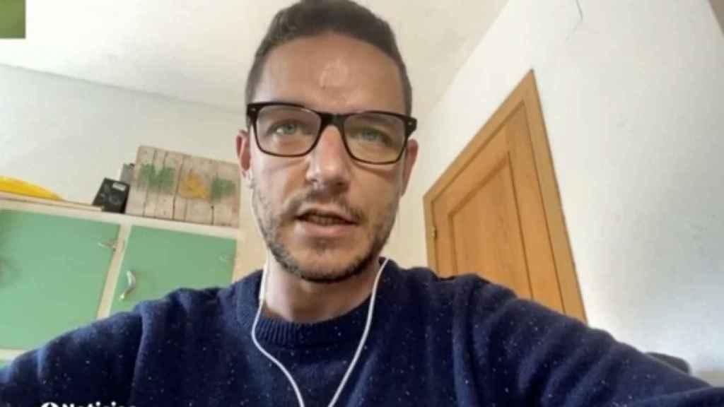 Segio, enfermero asesinado, en una de sus intervenciones en Antena 3.