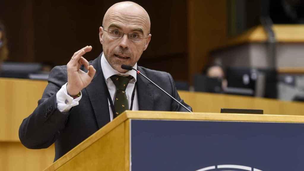 El portavoz de Vox en Bruselas, Jorge Buxadé