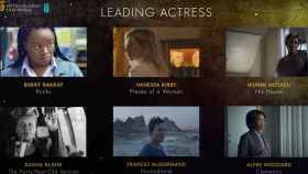 Las nominadas al BAFTA a la mejor actriz en 2021.