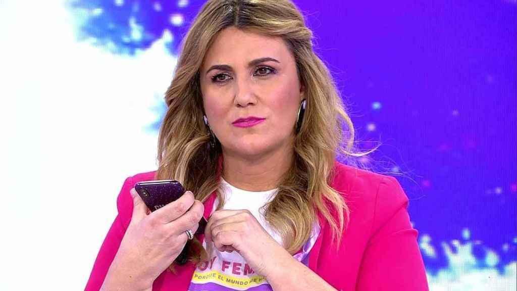 """La elegante respuesta de Carlota Corredora a Paula Usero por querer """"borrar"""" 'Sálvame'"""