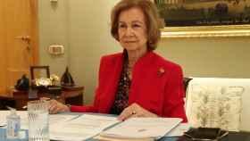 La reina Sofía en la reunión anual de patronos de la Escuela Superior de Música que lleva su nombre.
