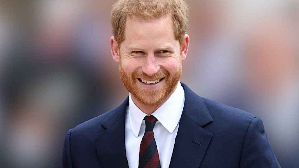 El príncipe Harry, durante un evento en Londres en 2019.