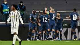 El Oporto celebra su gol