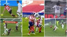 Collage de los penaltis 'robados' al Real Madrid