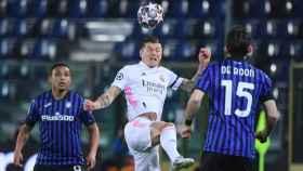 De Roon, contra el Real Madrid