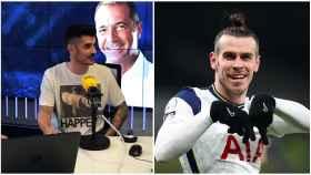 Álvaro Benito y Gareth Bale, en un collage
