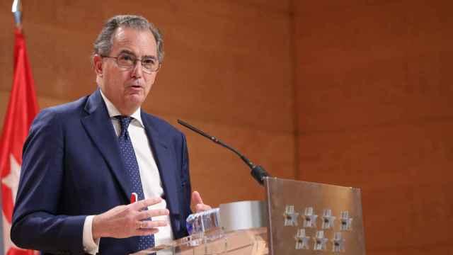 Enrique Ossorio, consejero de Educación de la Comunidad de Madrid.