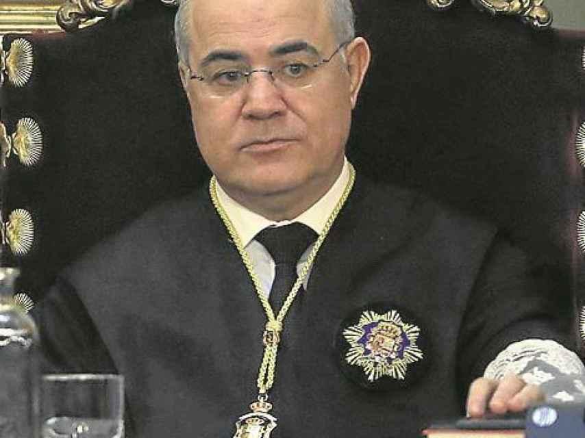 Pablo Llarena, en el Tribunal Supremo./