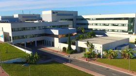 Hospital de Torrevieja, actualmente gestionado por Ribera Salud.