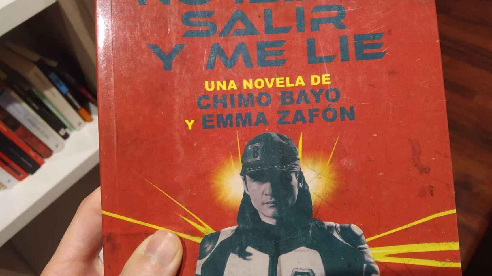 Portada del libro de Emma Zafón y Chimo Bayo, por Roca Editorial.