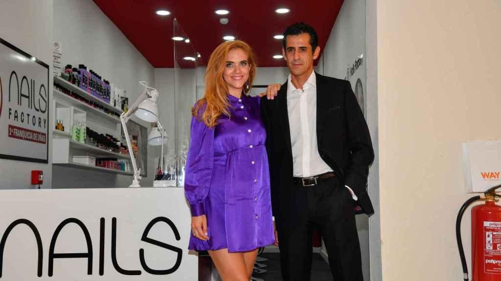 Beatriz Trapote y su marido, Víctor Janeiro, en una foto de octubre de 2020.