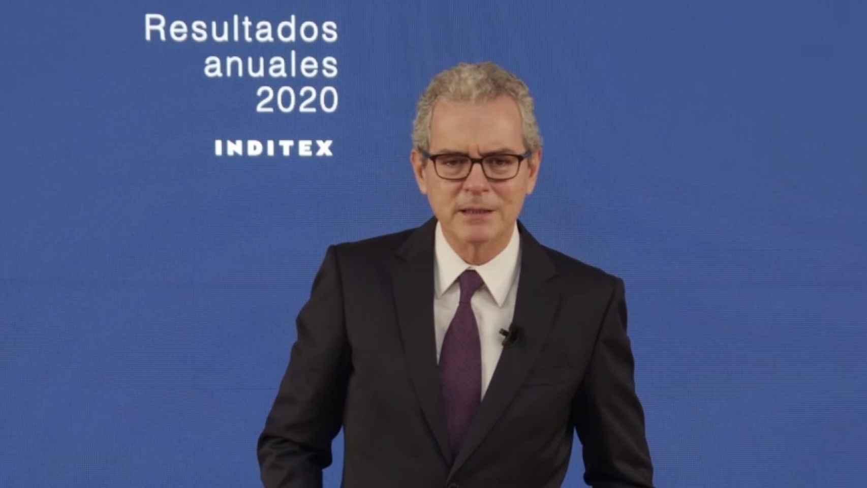 Presidente de Inditex, Pablo Isla.