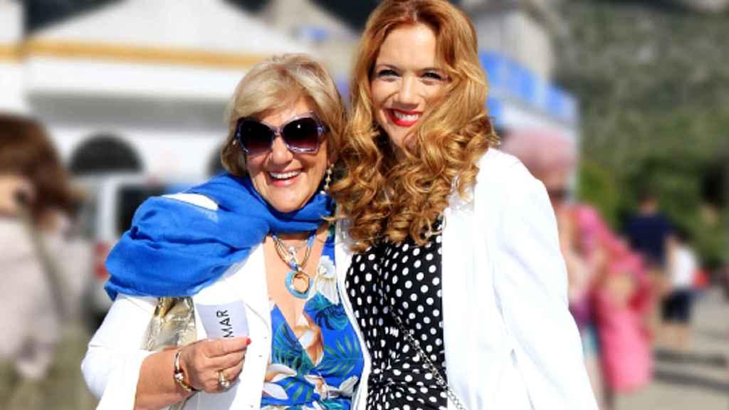 Beatriz Trapote y Carmen Bazán, en una imagen de archivo.