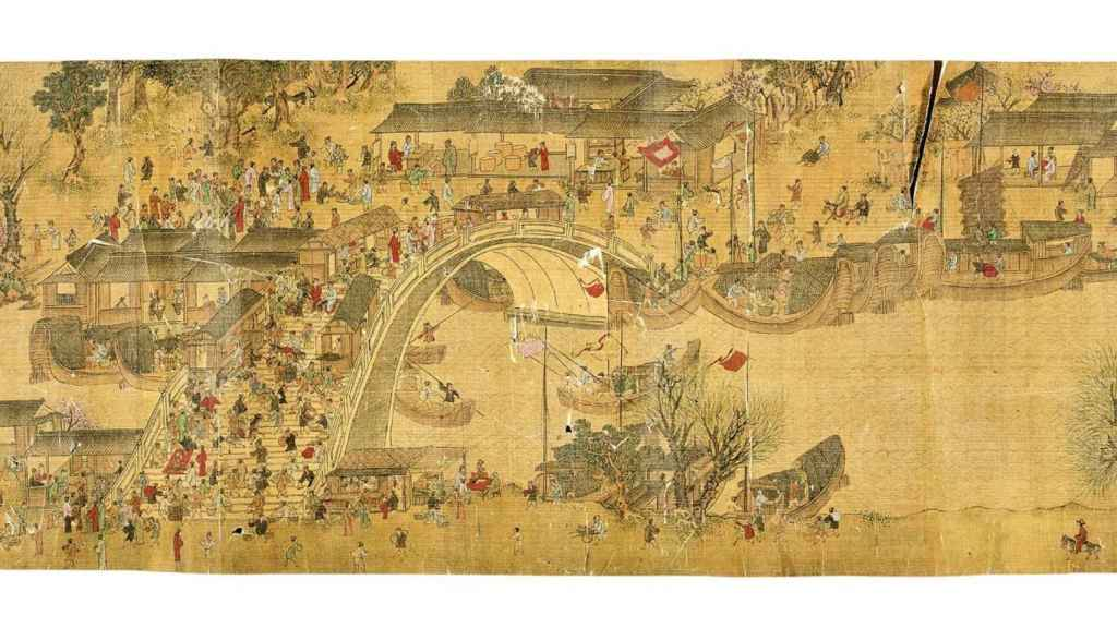 Gran ciudad china alrededor del siglo XII.