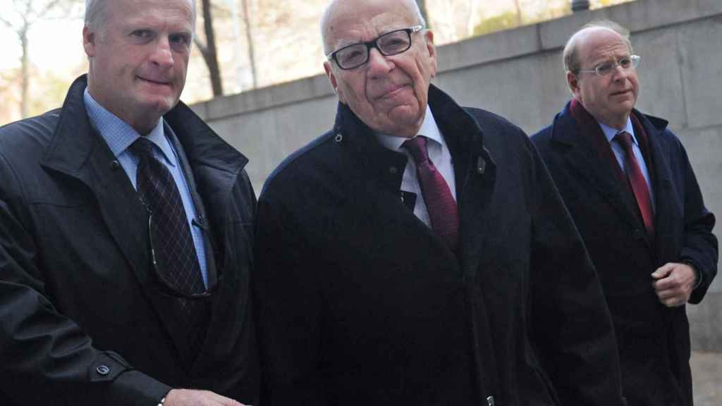 Murdoch upon his arrival for trial in 2013.