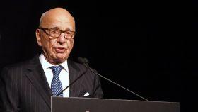 Rupert Murdoch en una imagen de archivo.