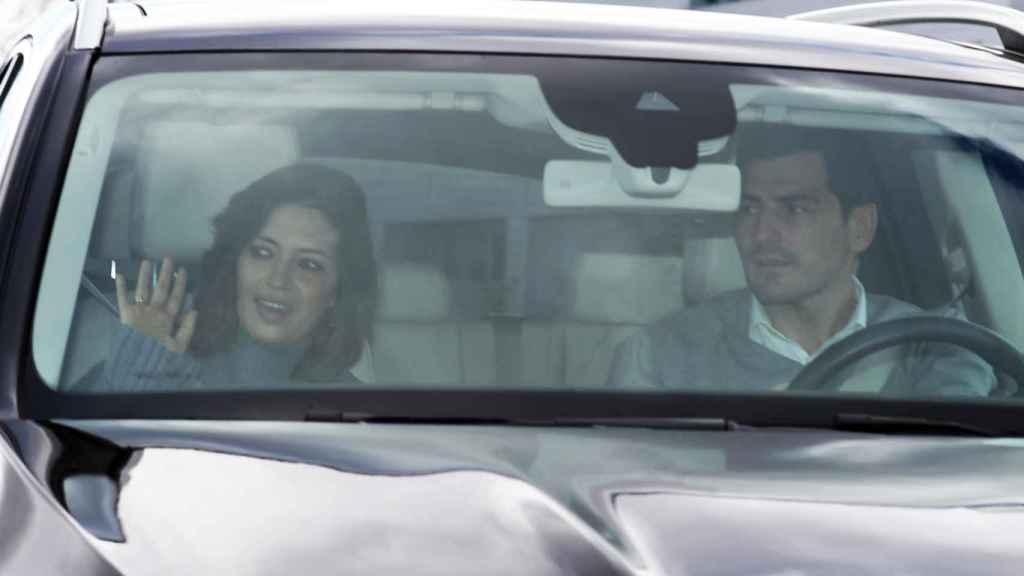 Sara Carbonero e Iker Casillas tras el último ingreso hospitalario de la periodista.