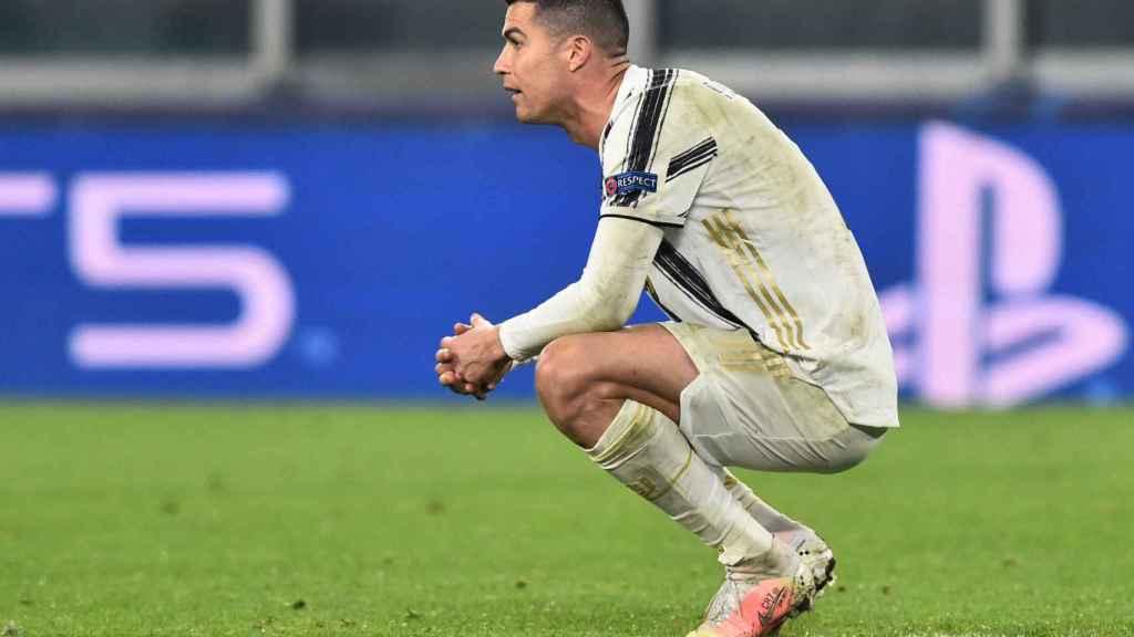Cristiano Ronaldo, tras la eliminación de la Champions League 2020/2021 de la Juventus