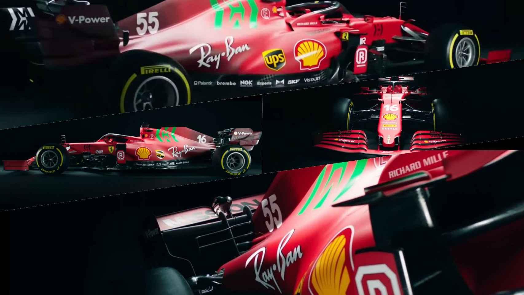 Las primeras imágenes del Ferrari SF21