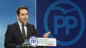 El secretario general del PP, Teodoro García Egea, en imagen de archivo.