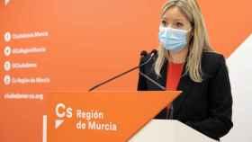 Ana Martínez Vidal, coordinadora de Ciudadanos en la Región de Murcia.