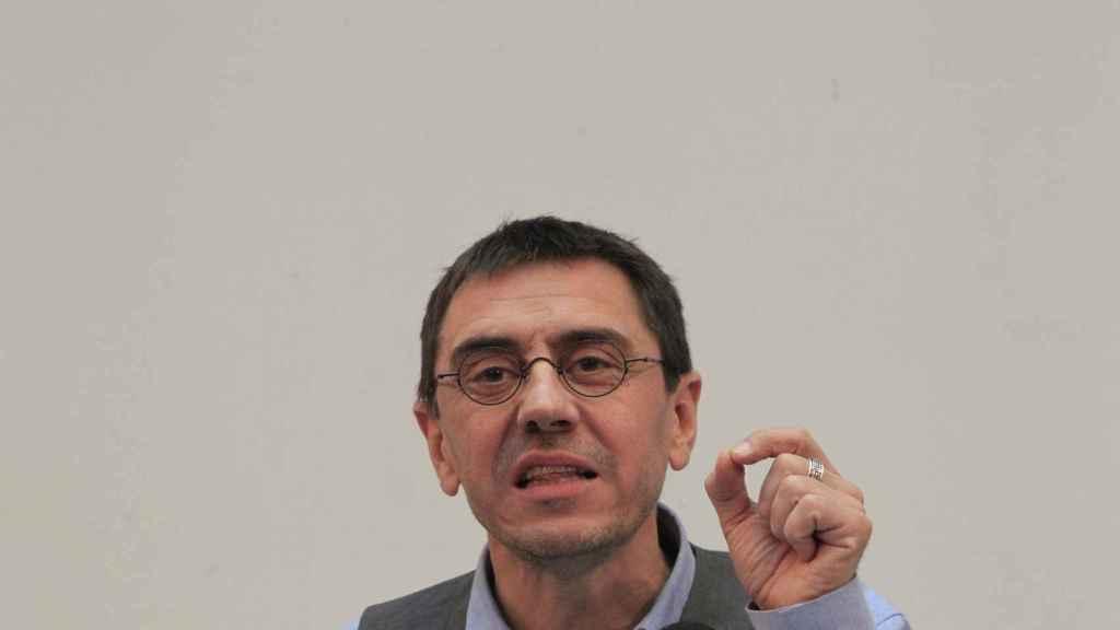 Juan Carlos Monedero, fundador de Podemos.