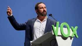 El presidente de Vox, Santiago Abascal. Efe