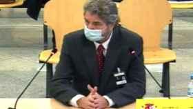 Cristóbal Páez, durante su declaración como acusado en la Audiencia Nacional./