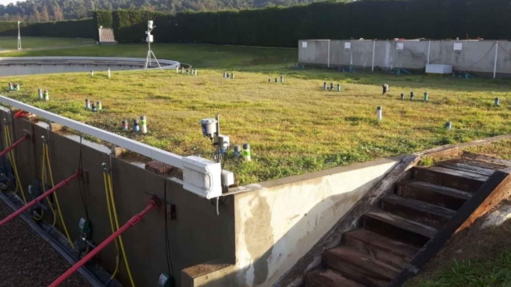 Área piloto de la depuradora de Palamós, donde se desarrollará el proyecto.