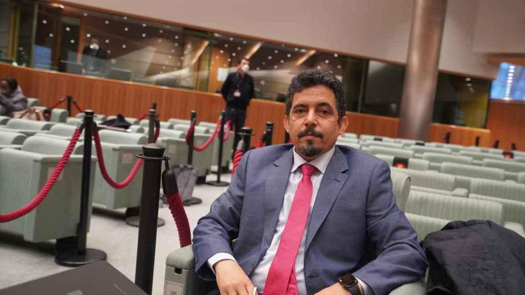 Oubi Bachir, representante del Frente Polisario en la UE.